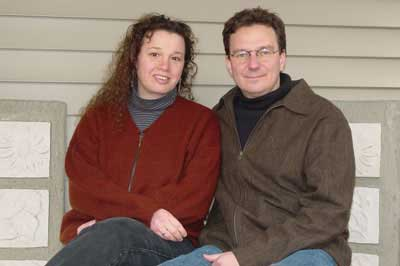 Erin Caruth and Jim Holahan